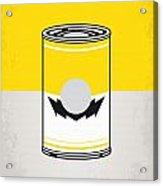 Y Mario Warhols Minimal Can Poster-wario Acrylic Print