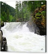 Yaak Falls Acrylic Print
