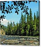 Yaak River Acrylic Print