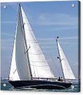Yacht Acrylic Print