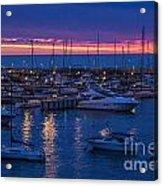 Yachts In Punta Del Este Acrylic Print