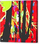 Yakety Yak Acrylic Print