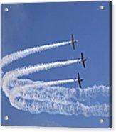 Yaks Aerobatics Team Acrylic Print