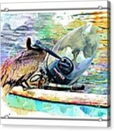 Yamaha Pelican Acrylic Print
