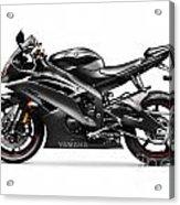 Yamaha R6 Supersport Motorcycle Acrylic Print
