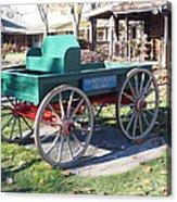 Yankee Candle Cart Acrylic Print