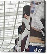 Yankee Flags Two Acrylic Print