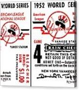 Yankees 4th Straight - Modern Acrylic Print