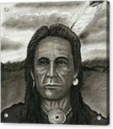 Yankton Lakota Acrylic Print