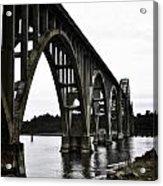 Yaquina Bay Bridge - Series D Acrylic Print