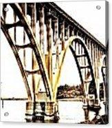 Yaquina Bay Bridge - Series G Acrylic Print
