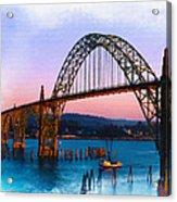 Yaquina Bay Bridge Acrylic Print