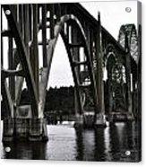 Yaquina Bay Bridge - Series J Acrylic Print