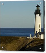 Yaquina Head Lighthouse 4 D Acrylic Print