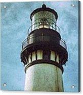 Yaquina Head Lighthouse Texture Acrylic Print