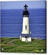 Yaquina Historic Lighthouse Acrylic Print