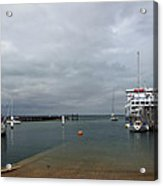 Yarmouth Harbour From The Slipway Acrylic Print