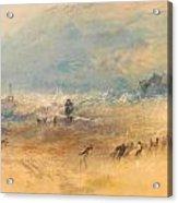 Yarmouth Sands Acrylic Print