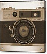 Yashica Lynx 5000e 35mm Camera Acrylic Print by Mike McGlothlen