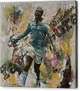 Yaya Toure Acrylic Print