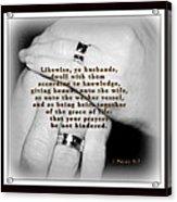 Ye Husbands Acrylic Print
