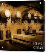 Ye Old Wine Cellar In Tuscany Acrylic Print by John Malone