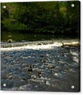 Ye Olde River Wye Acrylic Print