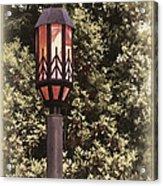 Ye Olde Street Lamp Acrylic Print