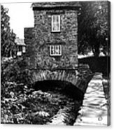 Ye Olde Toll Bridge Acrylic Print