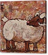 Year Of The Ram  Acrylic Print