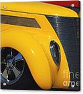 Yellow '37 Acrylic Print