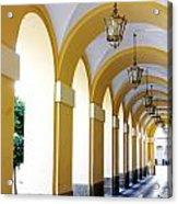 Yellow Arches Acrylic Print