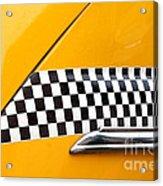Yellow Cab - 4 Acrylic Print