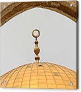 Yellow Dome Acrylic Print
