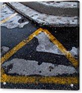 Yellow Lines 2  Acrylic Print