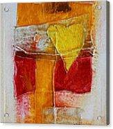 Yellow Love 2 Acrylic Print