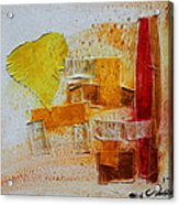 Yellow Love 3 Acrylic Print
