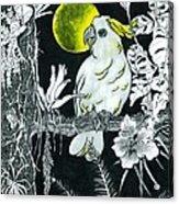 Yellow Moon  Acrylic Print