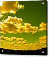 Yellow Skies Acrylic Print
