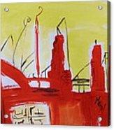 Yellow Sky Industry Acrylic Print