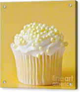 Yellow Sprinkles Acrylic Print