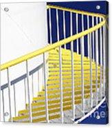 Yellow Steps 2 Acrylic Print