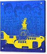 Yellow Submarine Acrylic Print
