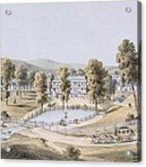 Yellow Sulphur Springs, Montgomery Acrylic Print