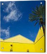 Yellow Warehouse Acrylic Print