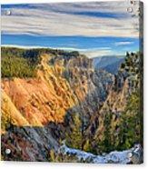 Yellowstone Grand Canyon East View Acrylic Print