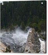 Yellowstone Acrylic Print by Jeff Pickett