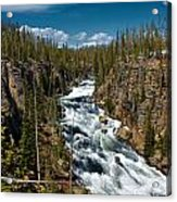 Yellowstone National Park Lewis River Acrylic Print