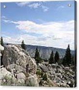 Yellowstone N P Landscape Acrylic Print