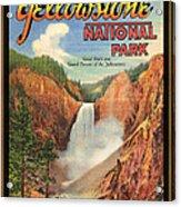 Yellowstone Park Acrylic Print